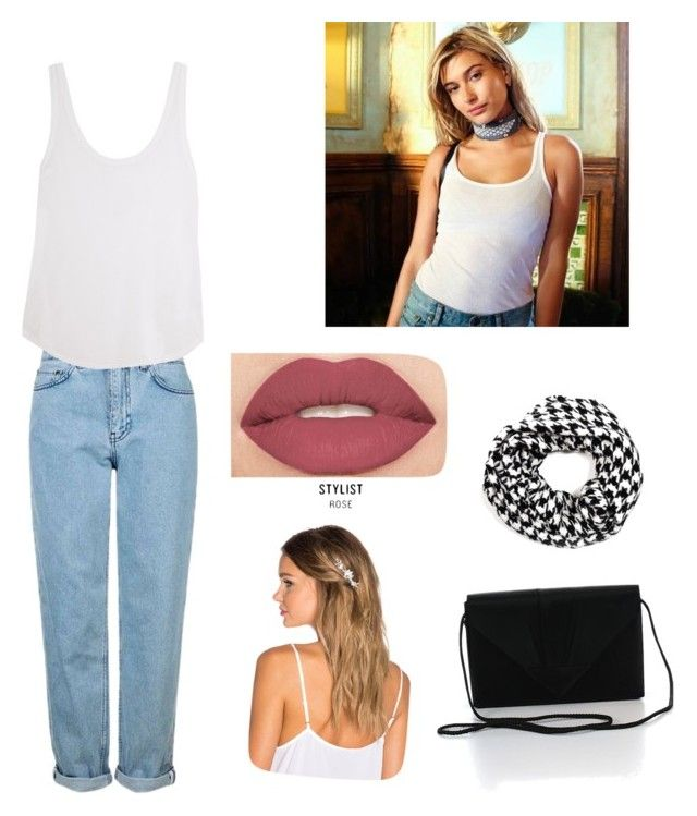 """Inspired by @haileybaldwin"" by lukeingatyoucal ❤ liked on Polyvore featuring Topshop, Frame Denim, Smashbox, Lelet NY, Fevrie and summerstyle"