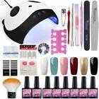 Manicure Pedicure Set Kit With Nice Led Uv Lamp Gel Polish Nail Dryer Tools Art ...