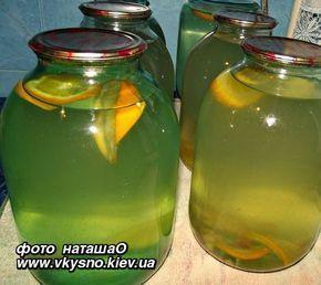 Березовый сок с цитрусовыми