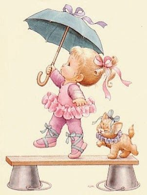 Dancing in the rain... Ruth Morehead
