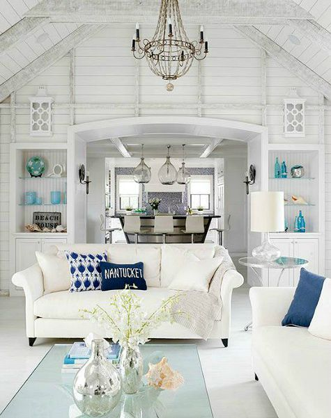 Creating the Beach Cottage Look with Shiplap Wall Paneling: http://www.completely-coastal.com/2015/09/beach-cottage-look-shiplap-wall-paneling-painted-white.html