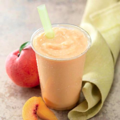 Panera's Peach Smoothie ~ my guilty pleasure for the summer...(and spring) lol
