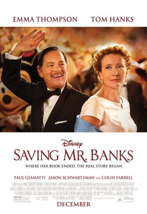 Saving Mr. Banks Movie Review #SavingMrBanks - Better in Bulk #DisneyFrozenEvent {Opens in theaters everywhere 12/20/13}