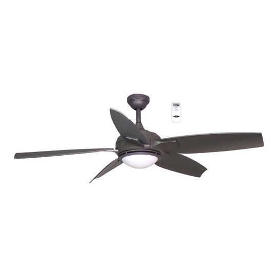 Harbor breeze 52 in twister titanium ceiling fan 5 blades lowes canada