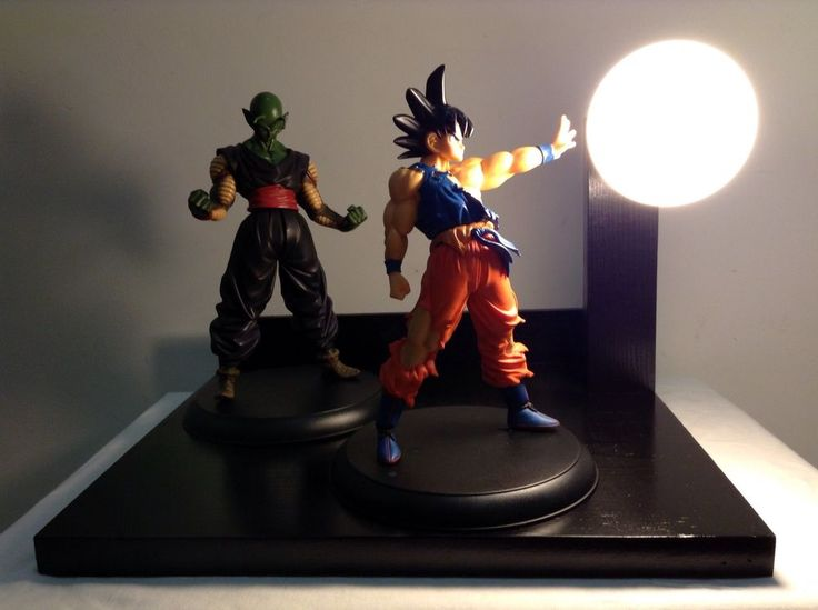 Charming Goku And Piccolo Dragonball Z Lamp Dragon Ball Z Lamps DBZ | EBay