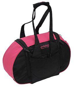 Workplay Goddess III Ladies Gym Bag with Washbag and Laundry Compartment - Pink/Black: Amazon.co.uk: Luggage