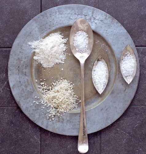 Поваренная и морская соль
