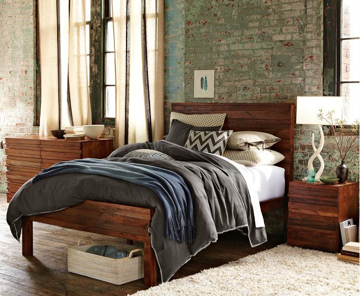 http://www.westelm.com/products/stria-bed-set-g287/?pkey=cheadboards-bed-frames     Reclaimed wood bed frame