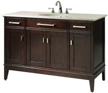 Mannor 48 vanity with gala complete your bathroom look Complete bathroom vanity