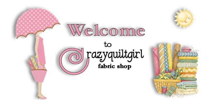 Crazyquiltgirl is another nice place to go for great fabric.  I love to check out the sale items.  The link for this site is: http://www.crazyquiltgirlfabricshop.com/servlet/the-On-Sale/Categories