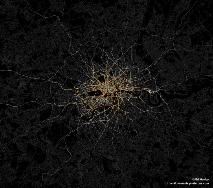Mapping Taxi Routes in London - UrbanMovements.co.uk