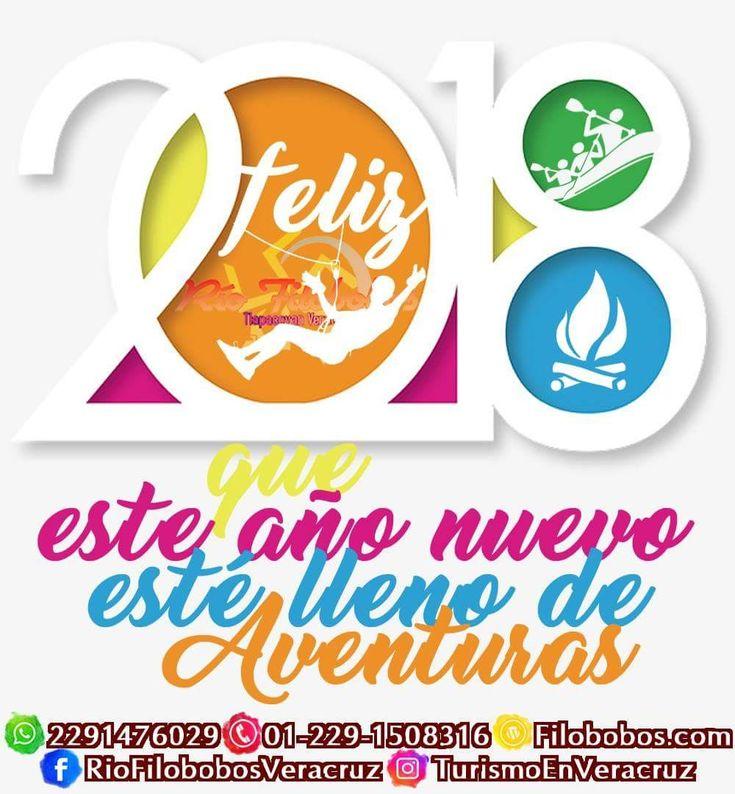 Feliz año nuevo #2018 que esté lleno de #aventuras en el río #Filobobos #Veracruz http://www.filobobos.com