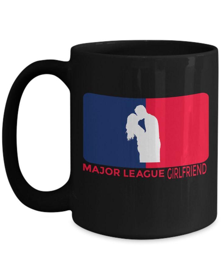 Girlfriend Gift Ideas - 15oz Girlfriend Coffee Mug - Best Girlfriend Birthday Gift - Girlfriend Gifts For Anniversary - Girlfriend Mug - Major League Girlfriend
