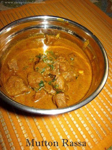 Recepty z Indie: Mutton Rassa