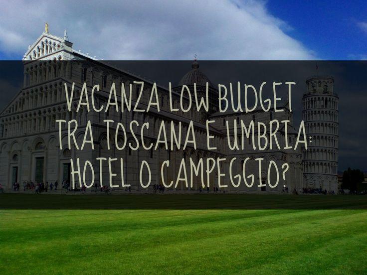 Vacanze con bambini: campeggio o hotel? 33 euro al giorno, a chalet. Ecco uno dei tanti motivi per cui nella scelta tra Hotel, Pensione, B&B o Campeggio, ha vinto quest'ultimo! Sì, il campeggio in primavera è fattibile, anzi è stata una vera e propria scoperta! Ecco il primo degli articoli dedicati alla vacanza low budget con bambini, tra la Toscana e l'Umbria e... ... nel frattempo si studiano nuove idee di risparmio, perché noi viaggiatori per passione sentiamo già il prurito ai piedi…