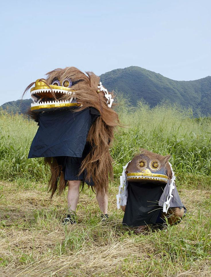 Charles Fréger began a photography project exploring Japan's masked ritual figures.Yokai, oni, tengu and kappa, which can be translated as ghosts, monsters, ogres and goblins, are ritual figures imagined by man and embodied during festivals and ceremonies as an attempt to tame the elements and find meaning in natural events.  Juxtapoz Magazine - Japan's Ritual Ghosts, Monsters, Ogres and Goblins