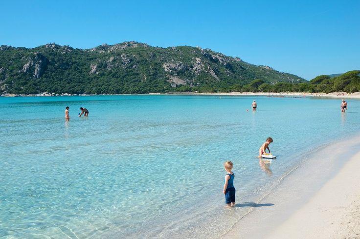 Santa Giulia beach, Corsica