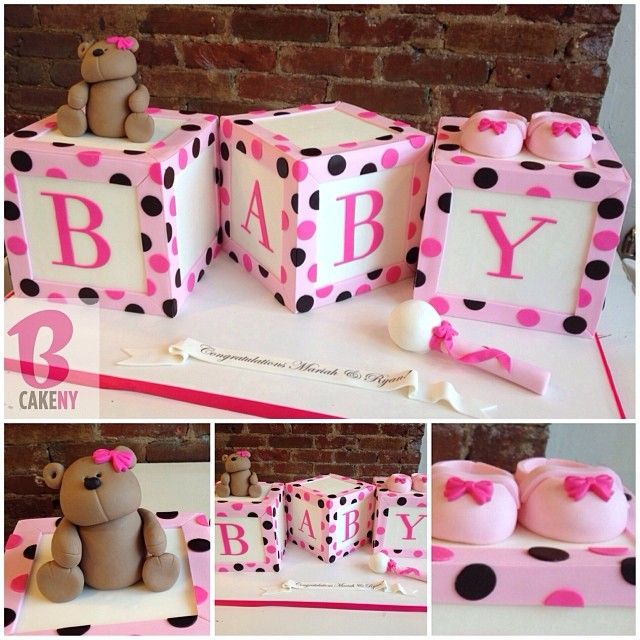 10 More Fun Baby Shower Cakes | View the details at http://www.aagiftsandbaskets.com/wordpress/2014/11/21/theme-baby-shower-cakes-ii/