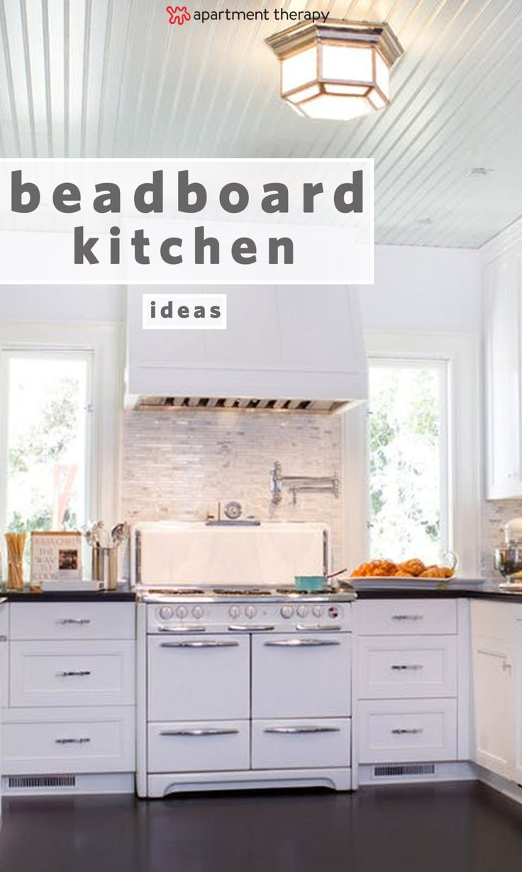 And bright kitchen update the little things apartment therapy - 9 Creative Ideas For Using Beadboard All Around Your Home