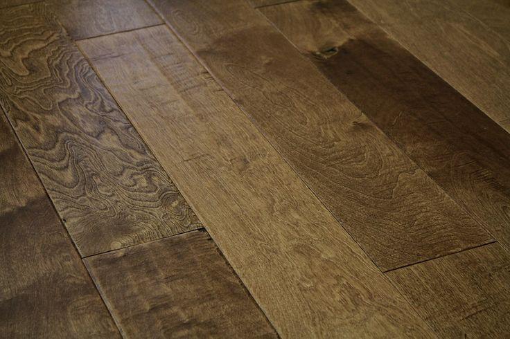 Engineered hand-scrape Hardwood Flooring available in Los angeles www.GlamourFlooringLA.com