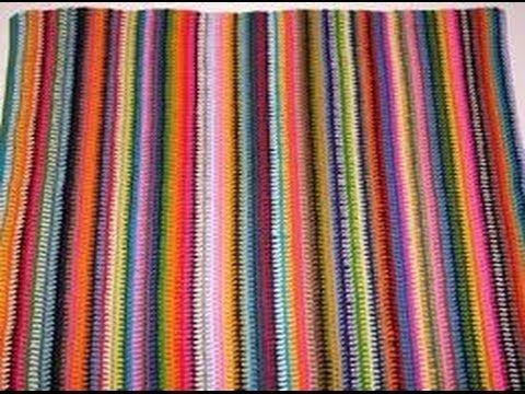 Maglia: come lavorare a righe orizzontali-knitted rows-trabajo en lineas