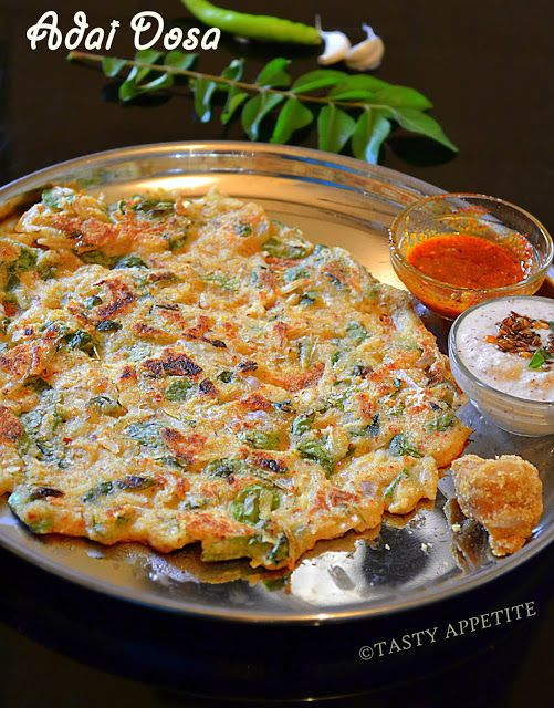 How To Make South Indian Adai Dosa Easy Yum Food Drink