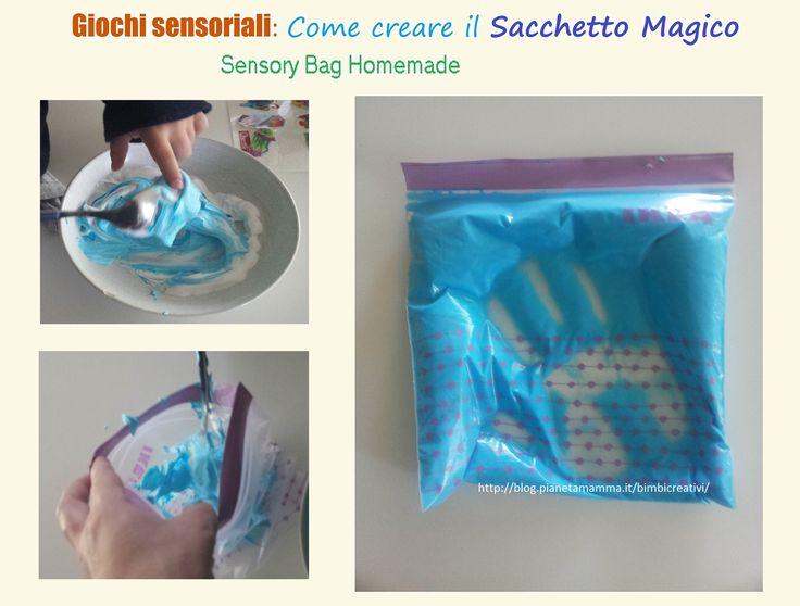 Gioco sensoriale: il Sacchetto Magico – The Sensory Bag DIY