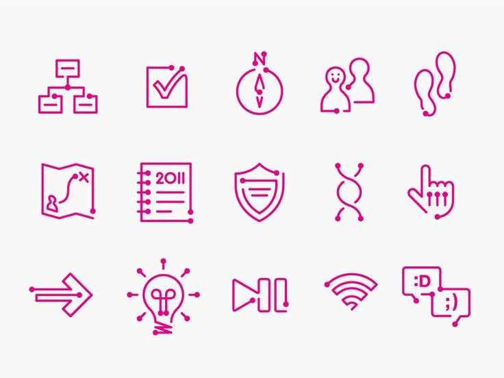 Keeping Connected Design Challenge icons by Chris Pitney (London)