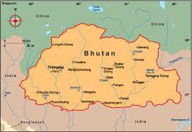 The countries near Bhutan are China, India, and Bangladesh