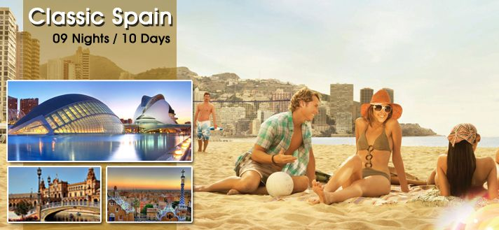 #EuropeGroupTours offers Best #Holiday #TourPackages for #Spain 2015 from Delhi India with all-inclusive hotels and cover all sightseeing in Spain.