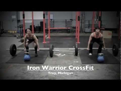 CrossFit Women: TABATA WOD w/ Tabata Songs