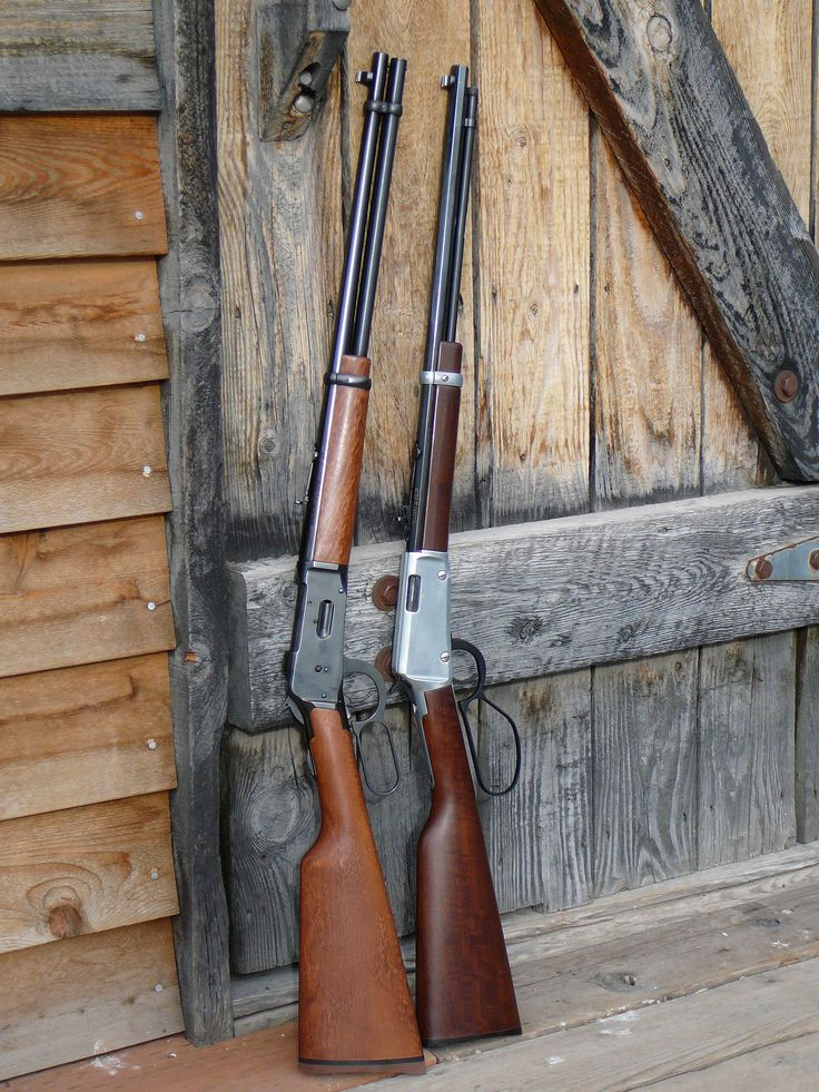 Lever Action Rifle | lever action rifle - Mossberg 464 30-30 and Henry Frontier .22