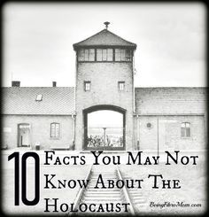 10 Facts You May Not Know About The Holocaust #Holocaust #WorldWarII #WWII  http://www.beingfibromom.com/10-facts-about-the-holocaust?utm_content=buffere5dde&utm_medium=social&utm_source=pinterest.com&utm_campaign=buffer?utm_content=buffere5dde&utm_medium=social&utm_source=pinterest.com&utm_campaign=buffer