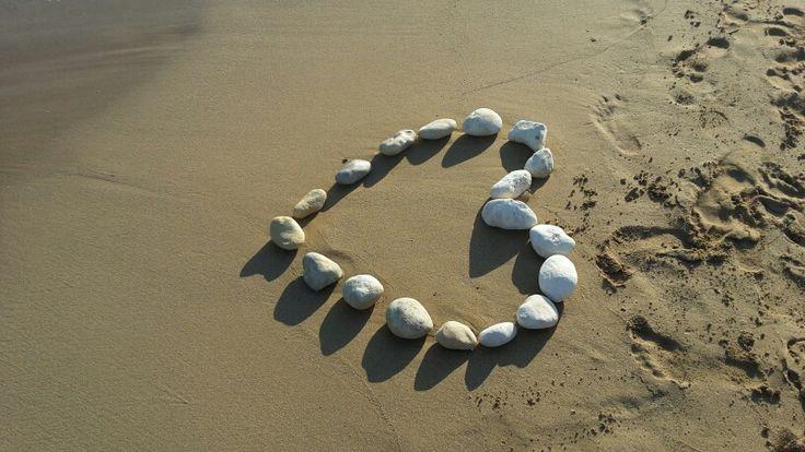 Love & sand...