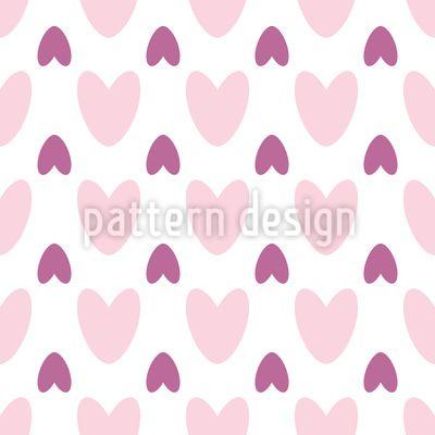 Hearts over Hearts Vector Ornament Vector Ornament by Elena Alimpieva at patterndesigns.com