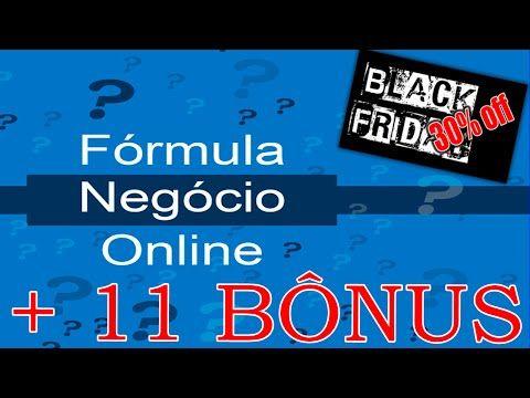 Formula Negocio Online Como Montar Um Negocio Na Internet Agora - YouTube