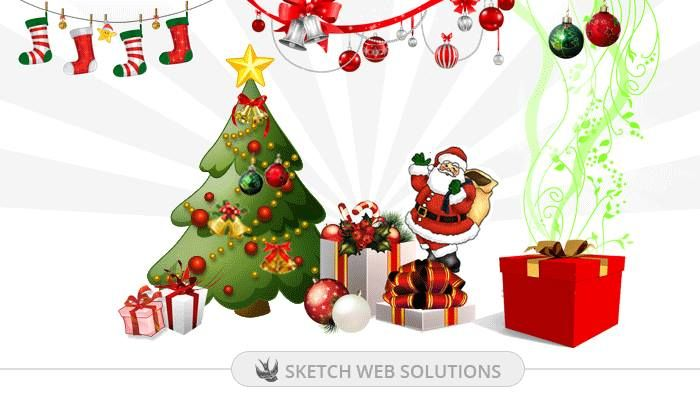 Christmas is the time to touch every heart with love and care. Christmas is the time to receive and send blessings. It is the time to breathe the magic in the air. Wishing you a very Merry Christmas from Sketch Web Solutions