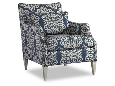Ikat Fabric Hooker Furniture Casual Chair 5042 and