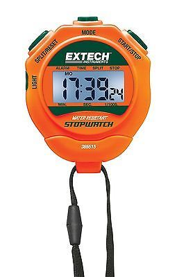 Stopwatches 166149: Extech Instruments 365515 Stopwatch/Clock With Backlit Display Standard New BUY IT NOW ONLY: $31.44