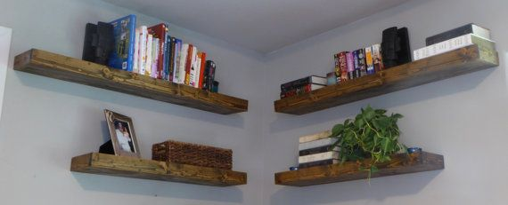 Floating Shelves/ Modern Shelves/ Rustic Shelves/ Wall by WoodWinn