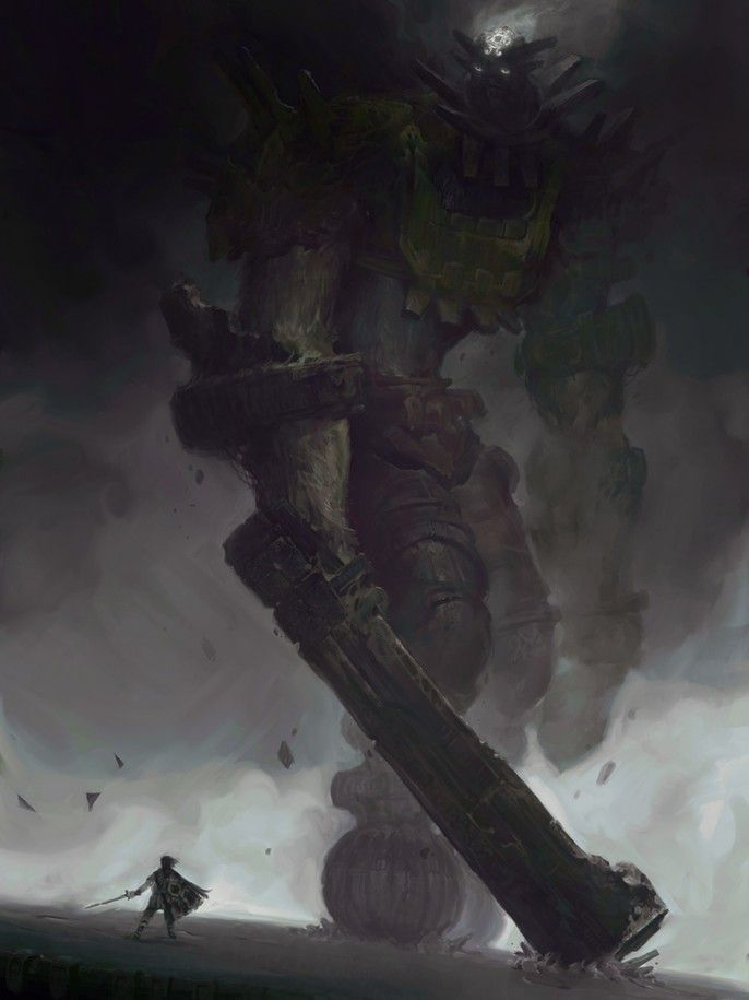 The 3rd Colossus by Victory Maury – Shadow of the Colossus