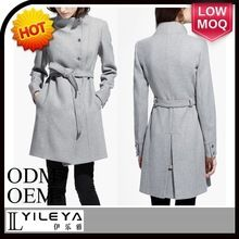 latest custom made long trench coat women grey with waistband Best Seller follow this link http://shopingayo.space