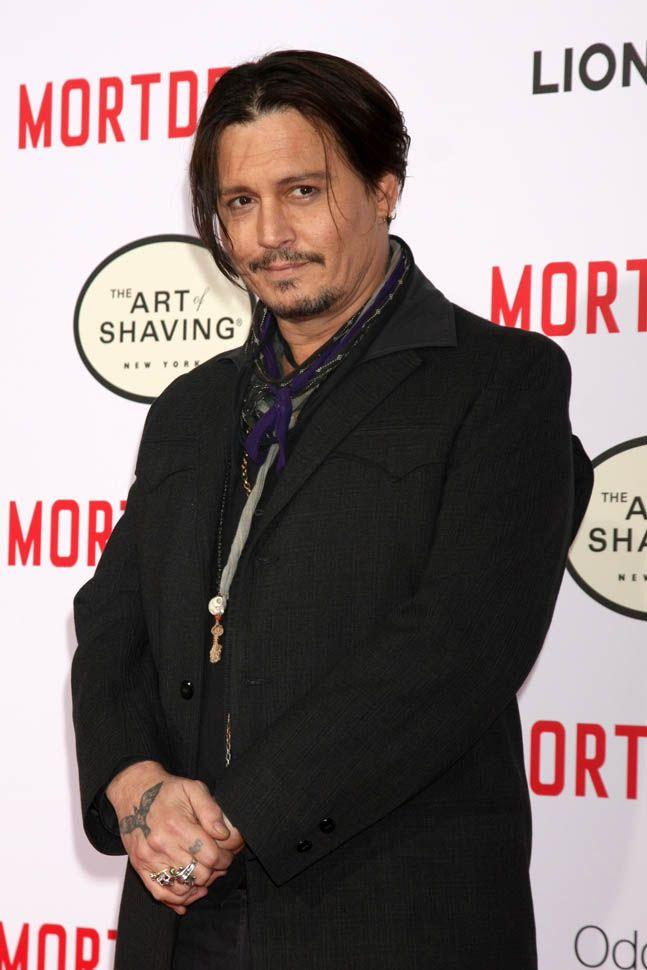 Johnny Depp na estreia de Hollywood Mortdecai, 21 janeiro de 2015 212281