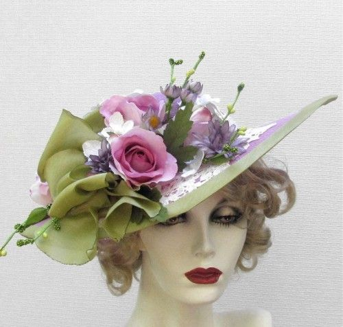 17 Best 1000 images about Hat Decorating on Pinterest Summer wear