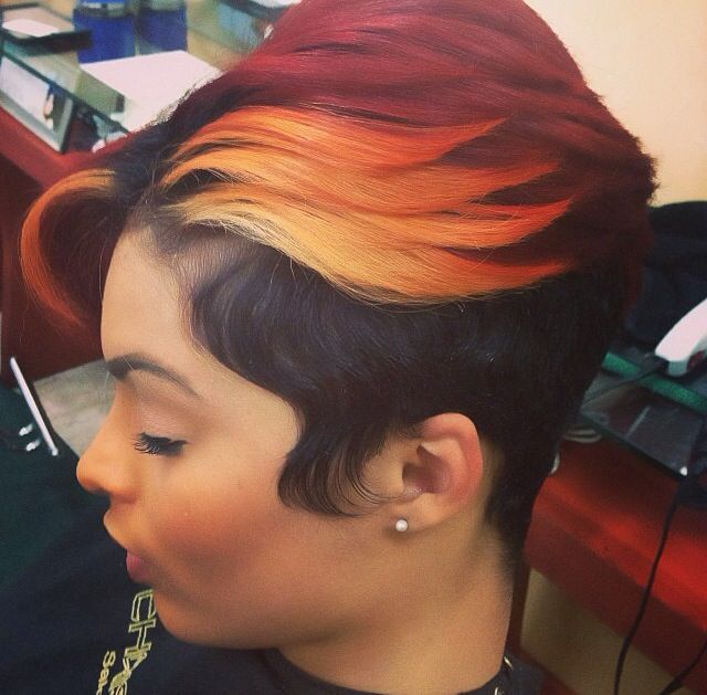 colors for short hair styles 1000 images about sassy cuts on black 4055 | 350301bf54043bf8470f76a5706f4055