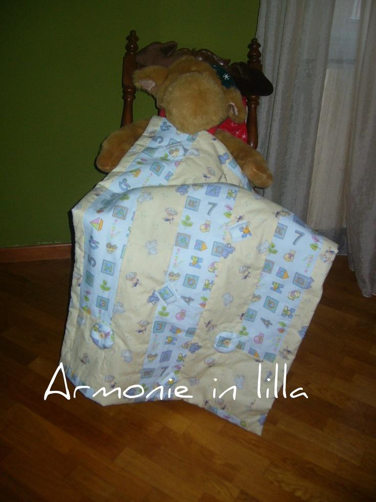 Trapunta in patchwork per bambino