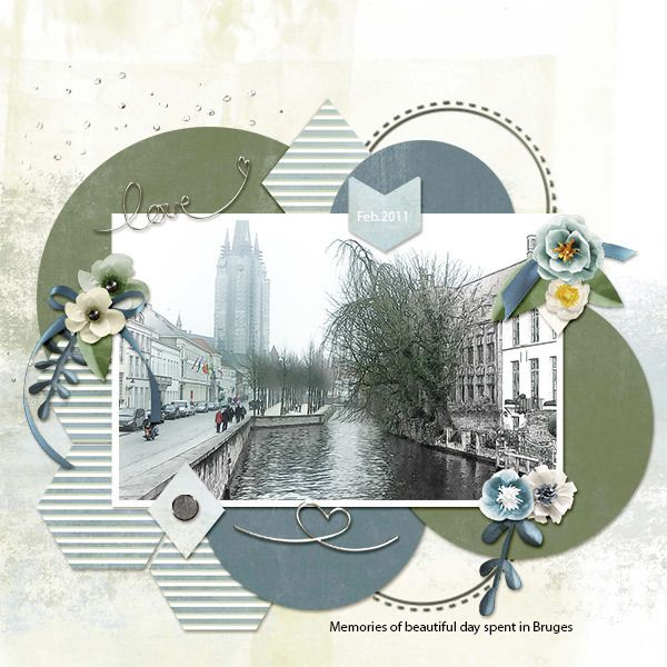 Bruges #scrapgirls