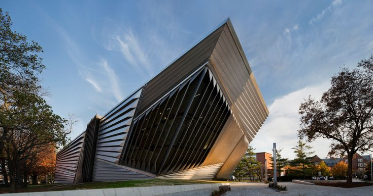 Eli & Edythe Broad Art Museum. Zaha Hadid Architects