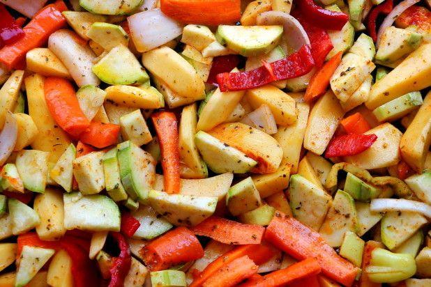 Restemat oppskrift - Ovnsbakte grønnsaker – Matvett