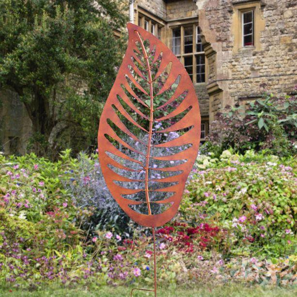 Gartendeko Figur Metall Blatt Folium Ferrum Gartentraum De Innererfriedenzitate Hausbauen Wohnzimmerideen Wohnzimmerideenwandgestaltung Hausdeko Example